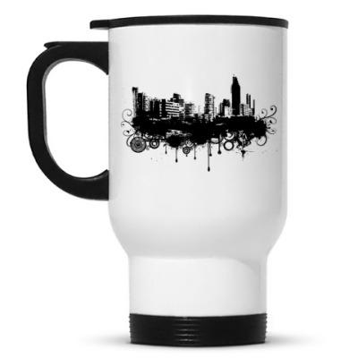 Кружка-термос Город
