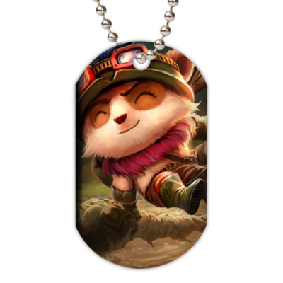 Жетон dog-tag Teemo