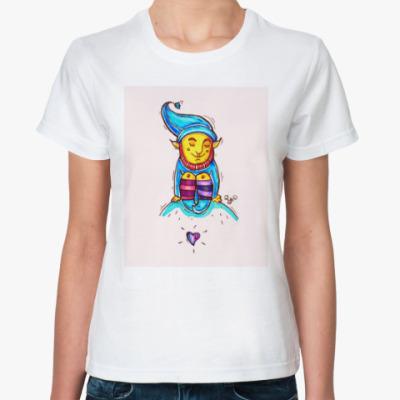 Классическая футболка Гном