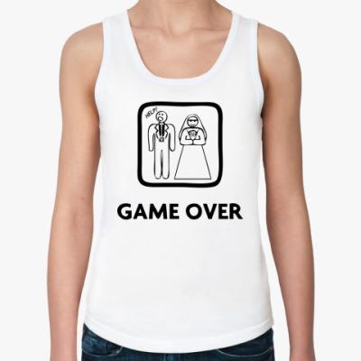 Женская майка  Game Over - Help