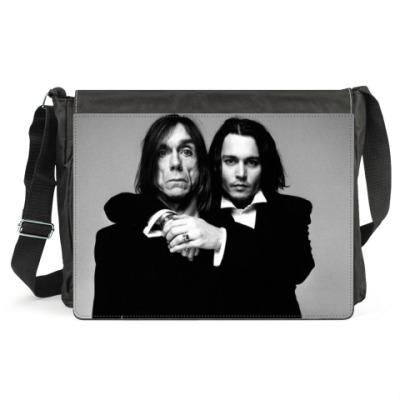 Сумка Johnny Depp & Iggy Pop