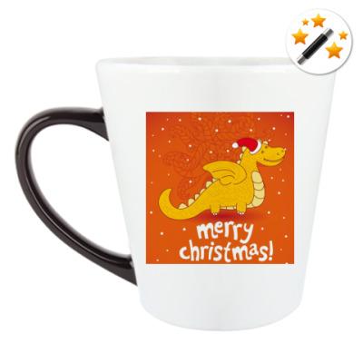 Кружка-хамелеон С Рождеством !