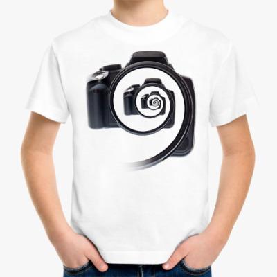 Детская футболка Бесконечный фотоаппарат