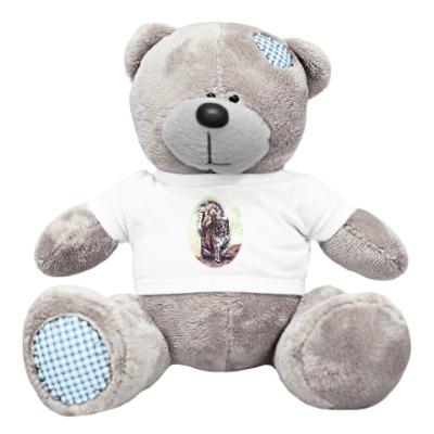 Плюшевый мишка Тедди Белочка