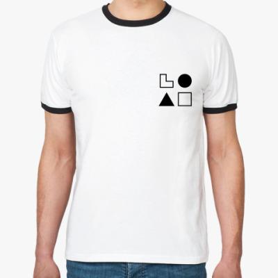 Футболка Ringer-T  ЭСИ (Драйзер)
