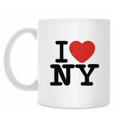 Кружка I love NY