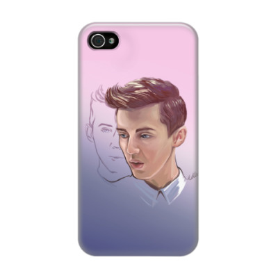 Чехол для iPhone 4/4s Troye Sivan from My happy little pill