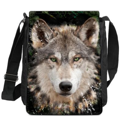 Сумка-планшет Волчий взор