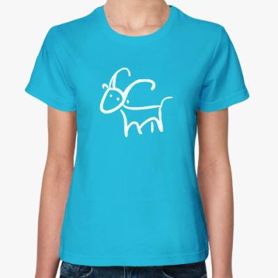 Женская футболка Козюлька