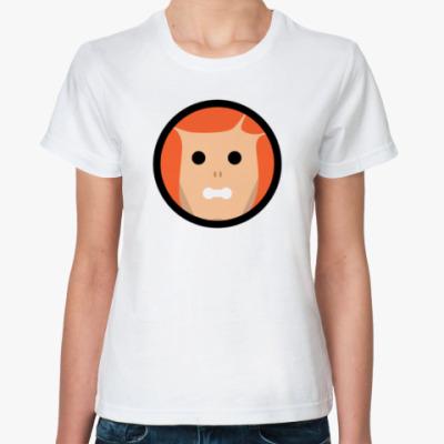 Классическая футболка  Hero