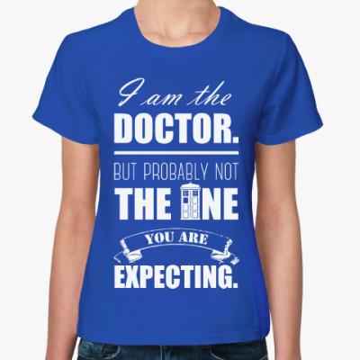 Женская футболка Тардис (Доктор Кто)