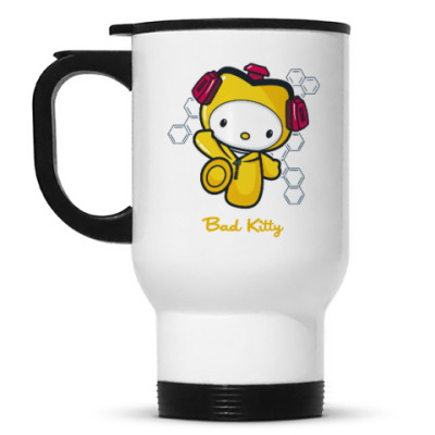 Кружка-термос Bad Kitty