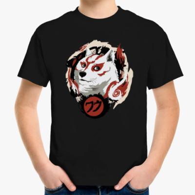 Детская футболка Okami Doge
