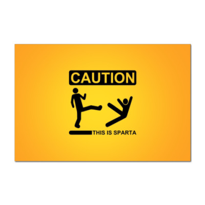 CAUTION: This is SPARTA!!