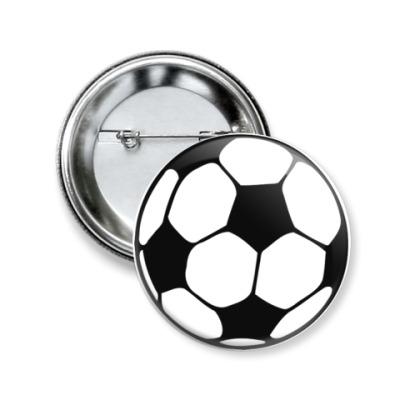 Значок 50мм Футбол