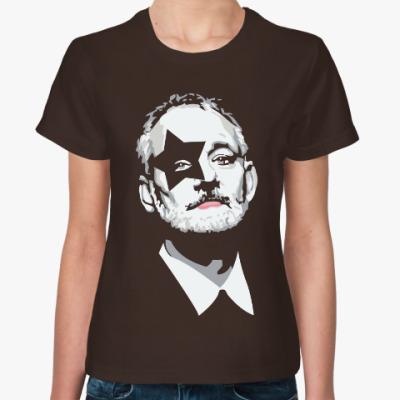Женская футболка Bill Murray - Kiss