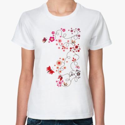 Классическая футболка Весеннее настроение