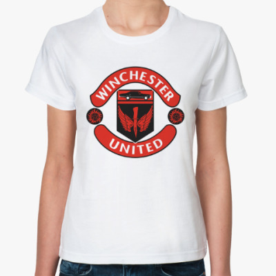 Классическая футболка Братья Винчестеры (Supernatural)