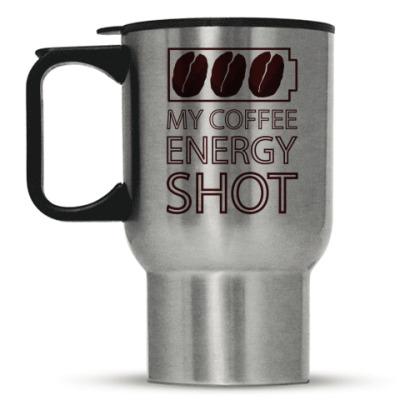 Кружка-термос Кофе-заряд