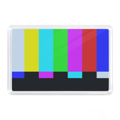 Магнит принт Шелдона 'TVbars'