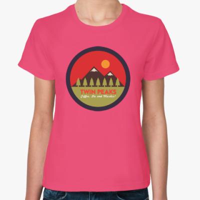 Женская футболка Твин Пикс Twin Peaks