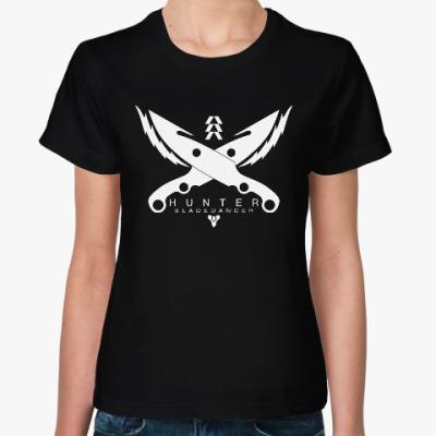 Женская футболка Охотник (Destiny)