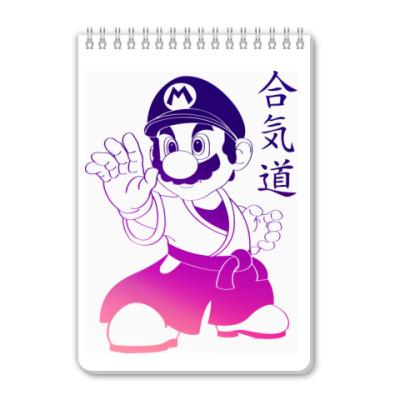 Блокнот Супер Марио - Сенсей