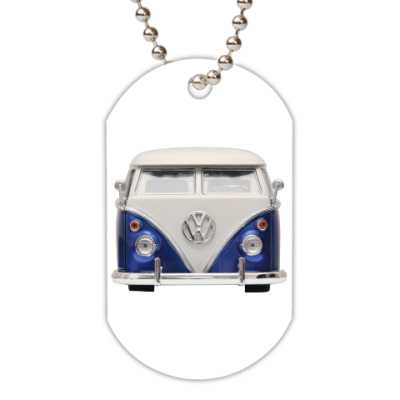 Жетон dog-tag Volkswagen Bus