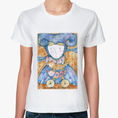 Классическая футболка Волшебница Котов