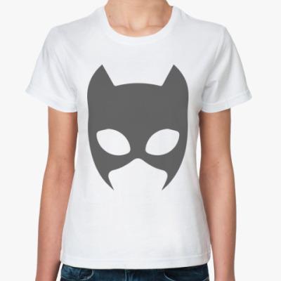 Классическая футболка Женщина-кошка