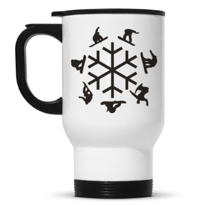 Кружка-термос snowboard
