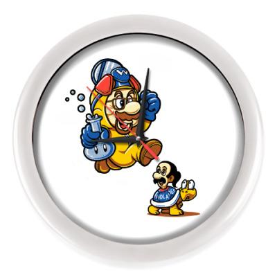 Настенные часы Mario Heisenberg
