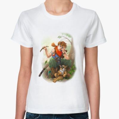 Классическая футболка привал