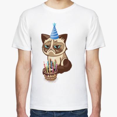 Футболка Угрюмый кот Тард - Grumpy Cat
