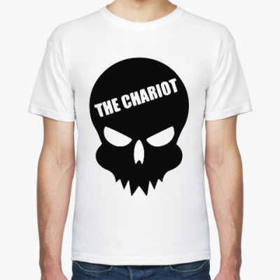 Футболка The Chariot Skull Logo