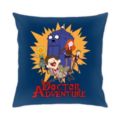 Подушка Doctor Adventure Time