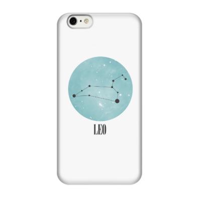 Чехол для iPhone 6/6s Знак зодиака Лев