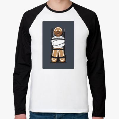 Футболка реглан с длинным рукавом Пряник Лектер