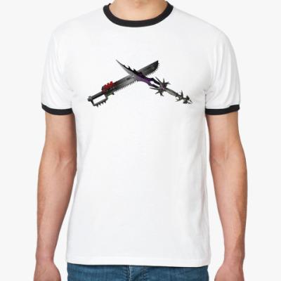 Футболка Ringer-T   Swords