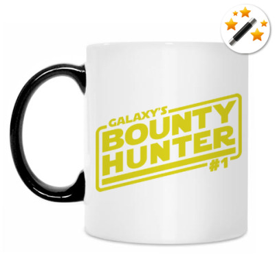 Кружка-хамелеон Bounty Hunter