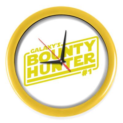 Настенные часы Bounty Hunter