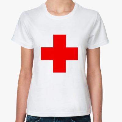 Классическая футболка Плюс