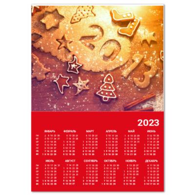 Календарь Новый Год 2013