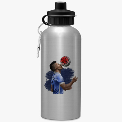 Спортивная бутылка/фляжка Sergio Aguero