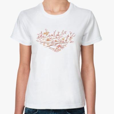 Классическая футболка сакура