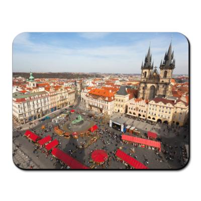 Коврик для мыши Прага, вид с башни