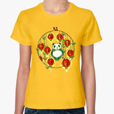 Женская футболка Пожелание Счастья