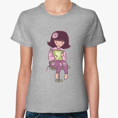 Женская футболка творческая личность
