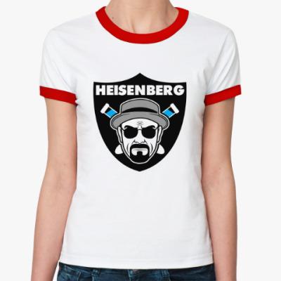Женская футболка Ringer-T Heisenberg Raiders