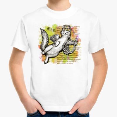 Детская футболка Муза